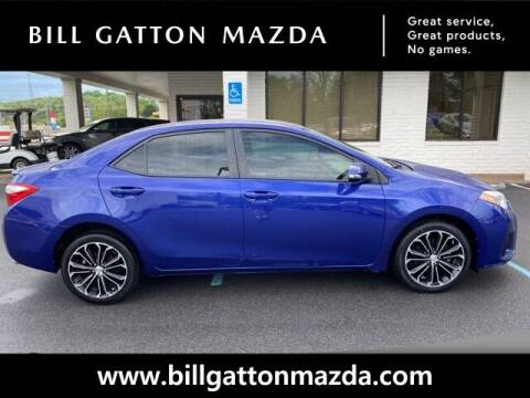 2015 Toyota Corolla for sale at Bill Gatton Used Cars - BILL GATTON ACURA MAZDA in Johnson City TN
