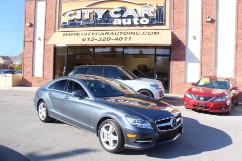 2013 Mercedes-Benz CLS for sale at CITY CAR AUTO INC in Nashville TN