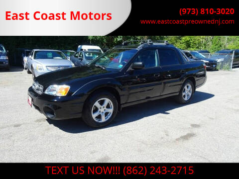 2006 Subaru Baja for sale at East Coast Motors in Lake Hopatcong NJ