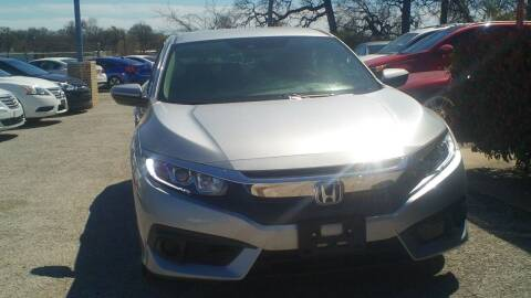 2016 Honda Civic for sale at Global Vehicles,Inc in Irving TX