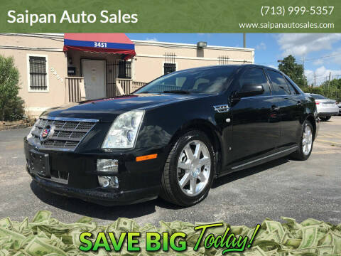 2009 Cadillac STS for sale at Saipan Auto Sales in Houston TX