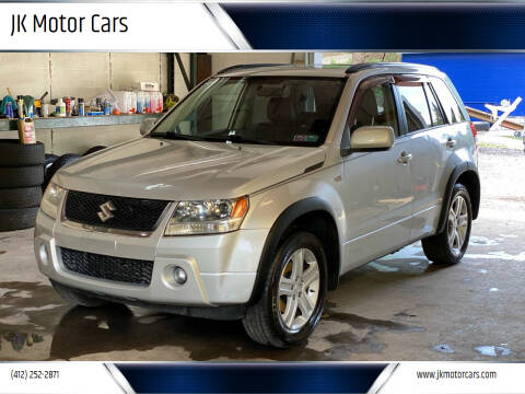 2007 Suzuki Grand Vitara for sale at JK Motor Cars in Pittsburgh PA