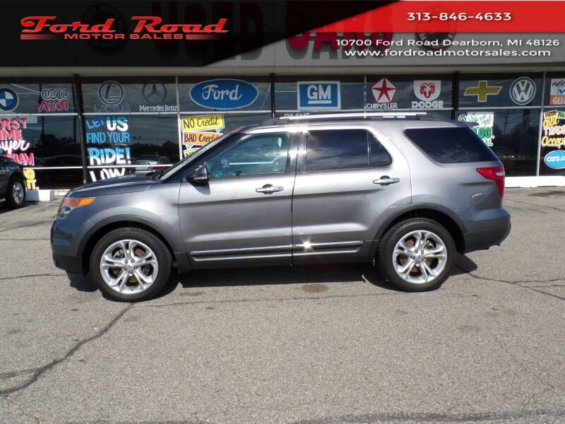 2014 Ford Explorer for sale at Ford Road Motor Sales in Dearborn MI