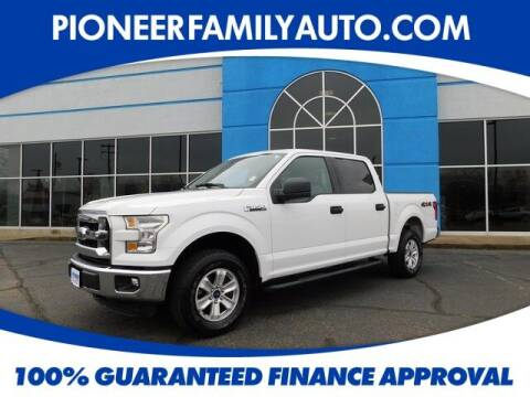 2015 Ford F-150 for sale at Pioneer Family auto in Marietta OH