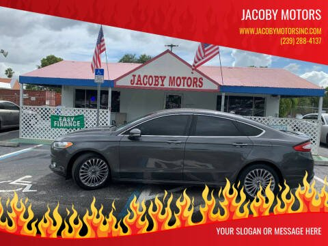 2015 Ford Fusion for sale at Jacoby Motors in Fort Myers FL