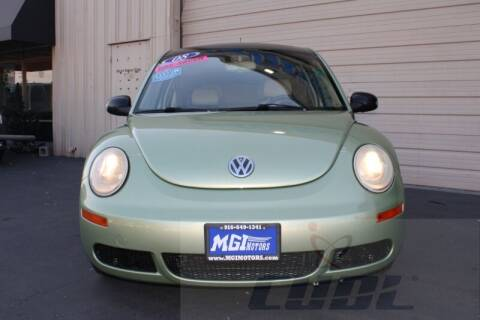 2008 Volkswagen New Beetle for sale at MGI Motors in Sacramento CA