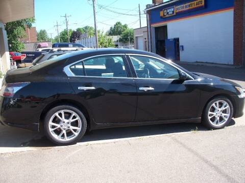 2014 Nissan Maxima for sale at North Metro Auto Sales in Cambridge MN