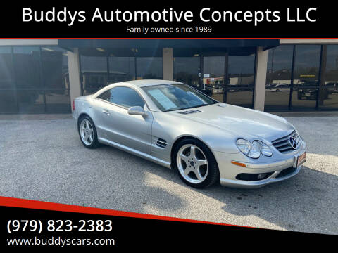 2003 Mercedes-Benz SL-Class for sale at Buddys Automotive Concepts LLC in Bryan TX