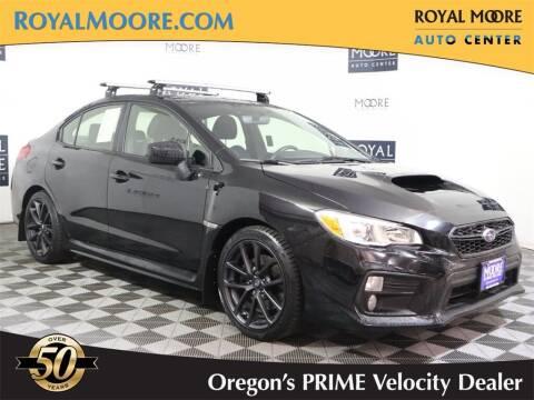 2018 Subaru WRX for sale at Royal Moore Custom Finance in Hillsboro OR