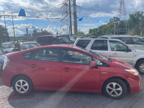 2012 Toyota Prius for sale at Trocci's Auto Sales in West Pittsburg PA
