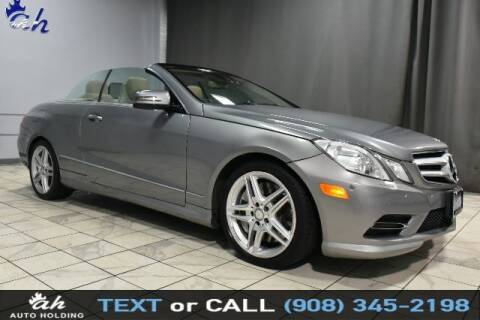 2013 Mercedes-Benz E-Class for sale at AUTO HOLDING in Hillside NJ