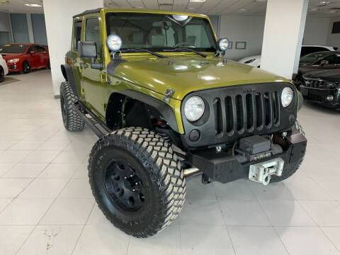 2010 Jeep Wrangler Unlimited for sale at Auto Mall of Springfield in Springfield IL