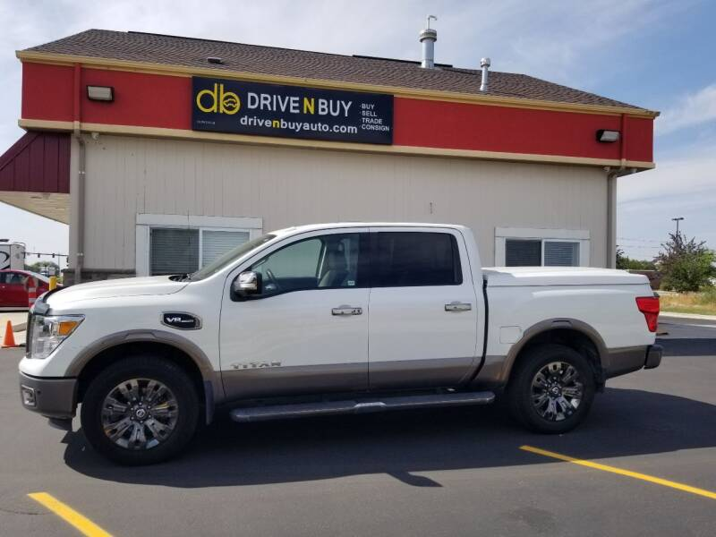2017 Nissan Titan for sale at Drive N Buy, Inc. in Nampa ID