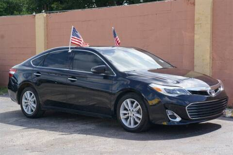 2014 Toyota Avalon for sale at Concept Auto Inc in Miami FL