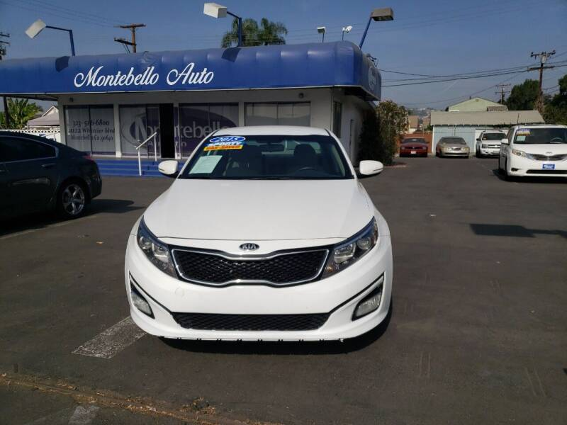 2015 Kia Optima for sale at Montebello Auto Sales in Montebello CA