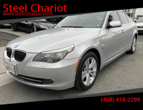 2009 BMW 5 Series for sale at Steel Chariot in San Jose CA