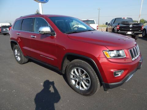 2015 Jeep Grand Cherokee for sale at West Motor Company - West Motor Ford in Preston ID