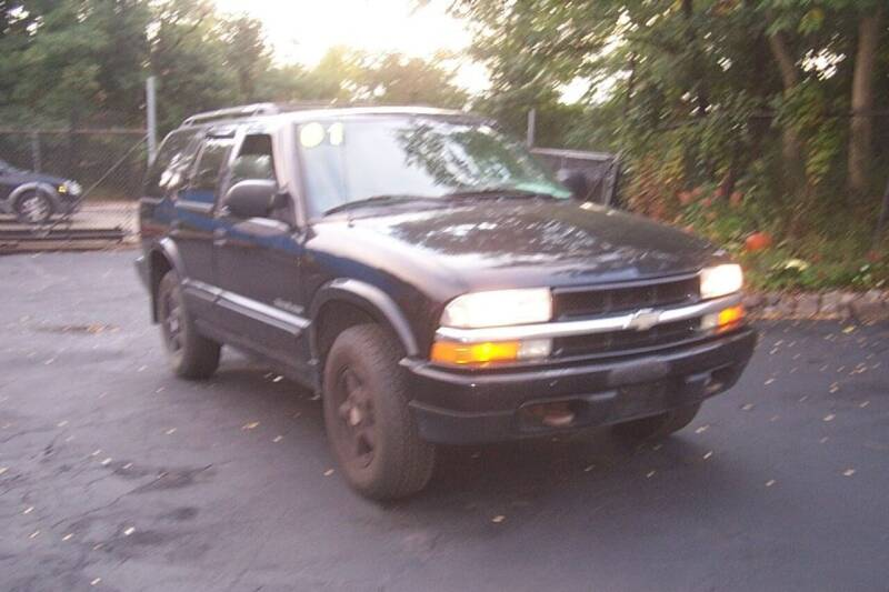2001 Chevrolet Blazer for sale at BAR Auto Sales in Brockton MA