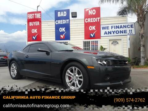 2015 Chevrolet Camaro for sale at CALIFORNIA AUTO FINANCE GROUP in Fontana CA