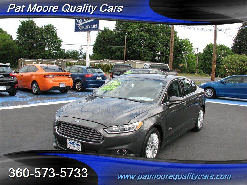 2015 Ford Fusion Hybrid for sale in Vancouver, WA