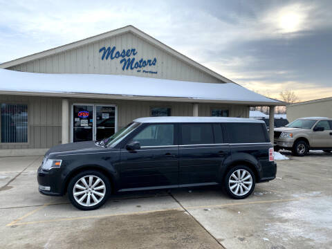 2014 Ford Flex for sale at Moser Motors Of Portland in Portland IN