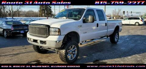 2006 Ford F-350 Super Duty for sale at ROUTE 31 AUTO SALES in McHenry IL