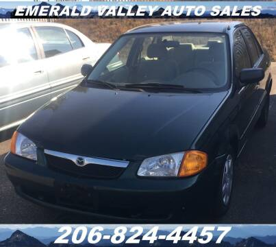 1999 Mazda Protege for sale at Emerald Valley Auto Sales in Des Moines WA