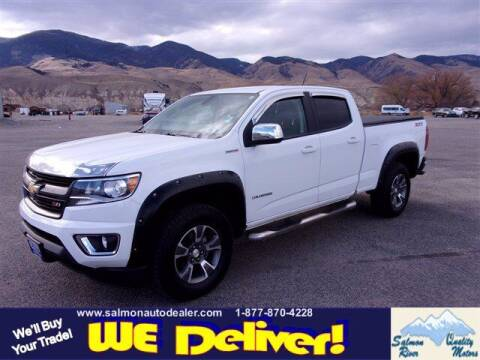 2017 Chevrolet Colorado for sale at QUALITY MOTORS in Salmon ID