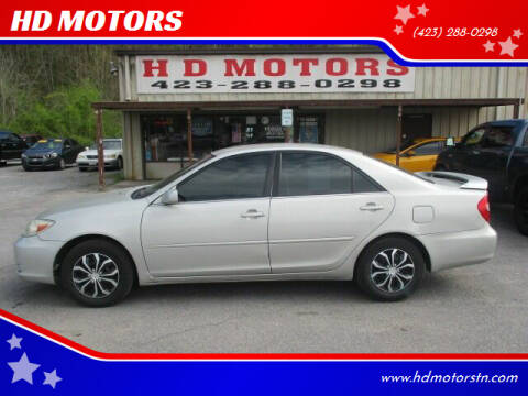 2002 Toyota Camry for sale at HD MOTORS in Kingsport TN