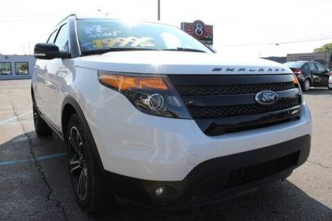 2014 Ford Explorer for sale at B & B Car Co Inc. in Clinton Twp MI