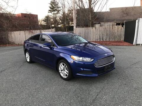 2013 Ford Fusion for sale at Lux Car Sales in South Easton MA