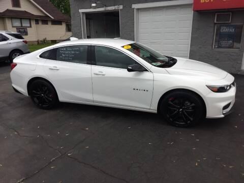 2018 Chevrolet Malibu for sale at Economy Motors in Muncie IN