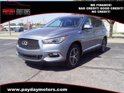 2019 Infiniti QX60 for sale at Payday Motors in Wichita KS