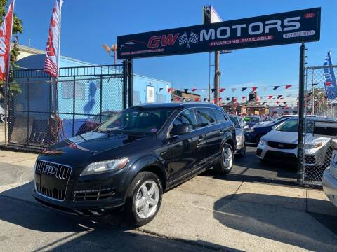 2014 Audi Q7 for sale at GW MOTORS in Newark NJ