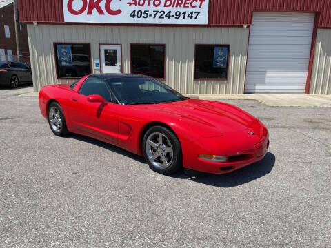 1998 Chevrolet Corvette for sale at OKC Auto Direct in Oklahoma City OK