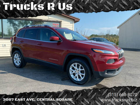 2016 Jeep Cherokee for sale at Trucks R Us in Central Square NY