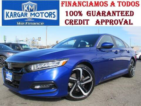 2019 Honda Accord for sale at Kargar Motors of Manassas in Manassas VA
