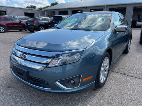 2011 Ford Fusion for sale at Blake Hollenbeck Auto Sales in Greenville MI