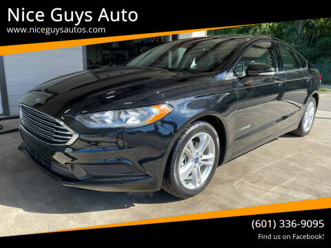 2018 Ford Fusion Hybrid for sale at Nice Guys Auto in Hattiesburg MS