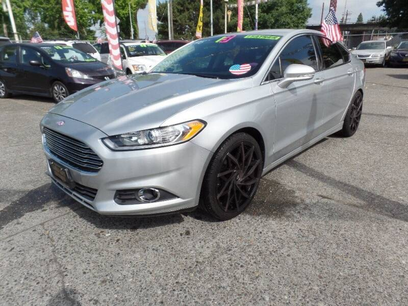 2013 Ford Fusion for sale at Gold Key Motors in Centralia WA
