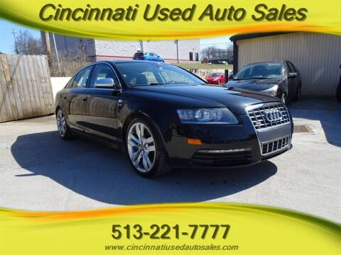 2008 Audi S6 for sale at Cincinnati Used Auto Sales in Cincinnati OH