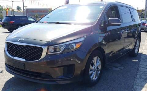 2015 Kia Sedona for sale at L&M Auto Import in Gastonia NC