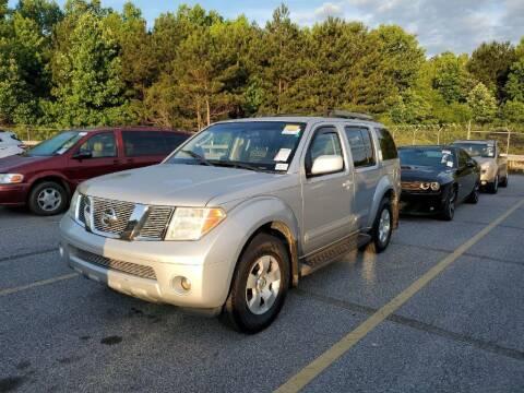 2006 Nissan Pathfinder for sale at Fletcher Auto Sales in Augusta GA