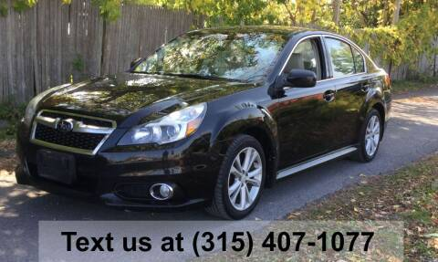 2014 Subaru Legacy for sale at Pete Kitt's Automotive Sales & Service in Camillus NY