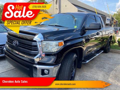 2014 Toyota Tundra for sale at Cherokee Auto Sales in Acworth GA