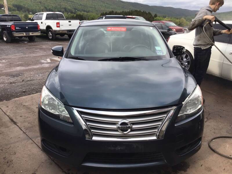 2014 Nissan Sentra for sale at Troys Auto Sales in Dornsife PA