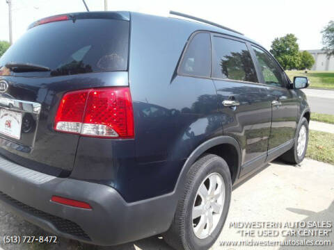 """2011 Kia Sorento for sale at MIDWESTERN AUTO SALES        """"The Used Car Center"""" in Middletown OH"""