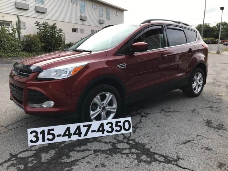 2014 Ford Escape for sale at Dominic Sales LTD in Syracuse NY