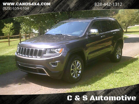 2015 Jeep Grand Cherokee for sale at C & S Automotive in Nebo NC
