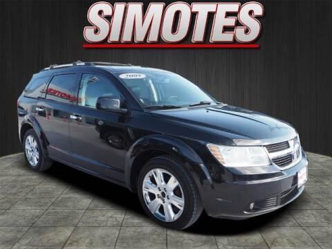 2009 Dodge Journey for sale at SIMOTES MOTORS in Minooka IL